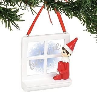 Department 56 Elf on The Shelf Believe Windowsill, 2.75