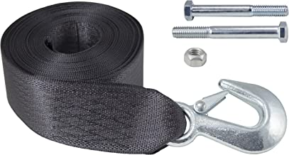 Goldenrod Dutton-Lainson 6249 20-ft Winch Strap with Hook 4000 lb