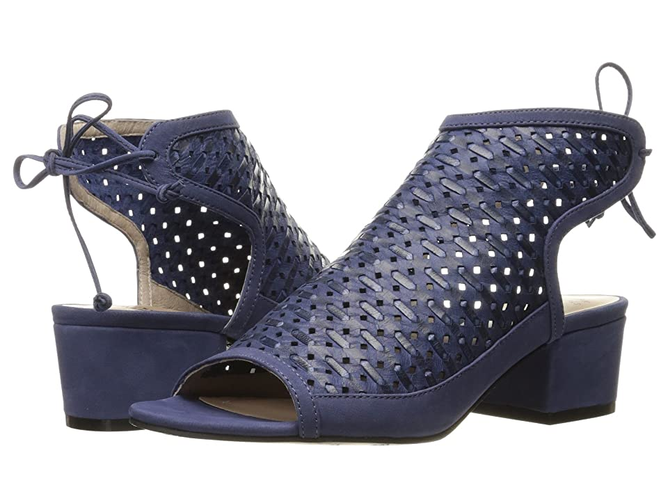 Nina Vance (Navy Perforated Woven Leather) Women