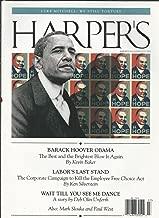 Harper's Magazine July 2009 (Barack Hoover Obama - Labor's Last Stand - Wait Till You See Me Dance)