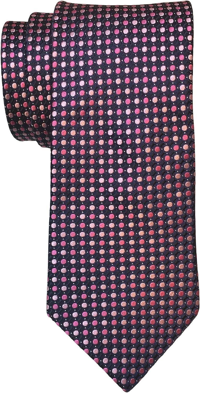 Ted Baker of London Geometric Woven Silk Tie, Blue/Pink