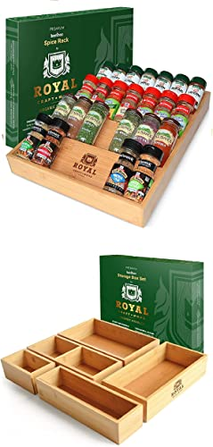 """high quality Spice new arrival Rack 17""""x13,5"""" and Storage Box Set of popular 5 sale"""