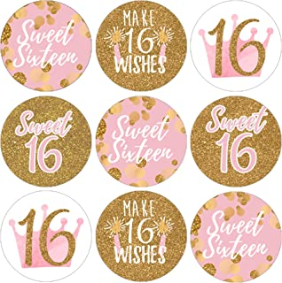 Best sweet sixteen stickers Reviews