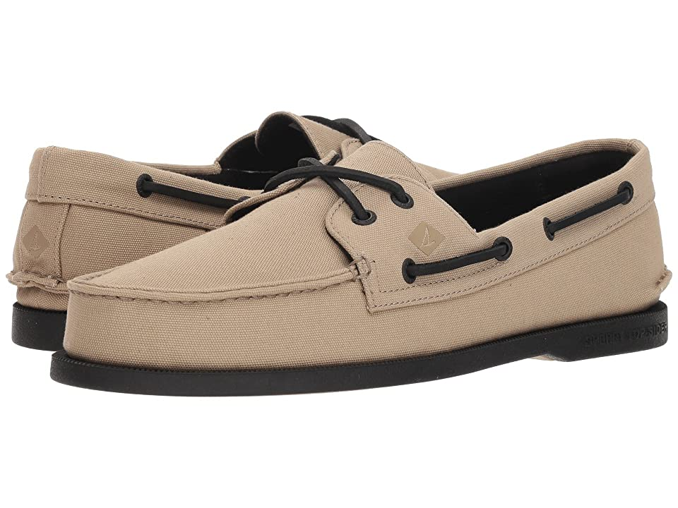 Sperry A/O 2-Eye Surplus (Natural/Black) Men