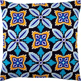 Morocco. Needlepoint Kit. Throw Pillow 16�16 Inches. Printed Tapestry Canvas, European Quality