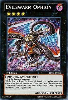 YU-GI-OH! - Evilswarm Ophion (HA07-EN064) - Hidden Arsenal 7: Knight of Stars - 1st Edition - Secret Rare