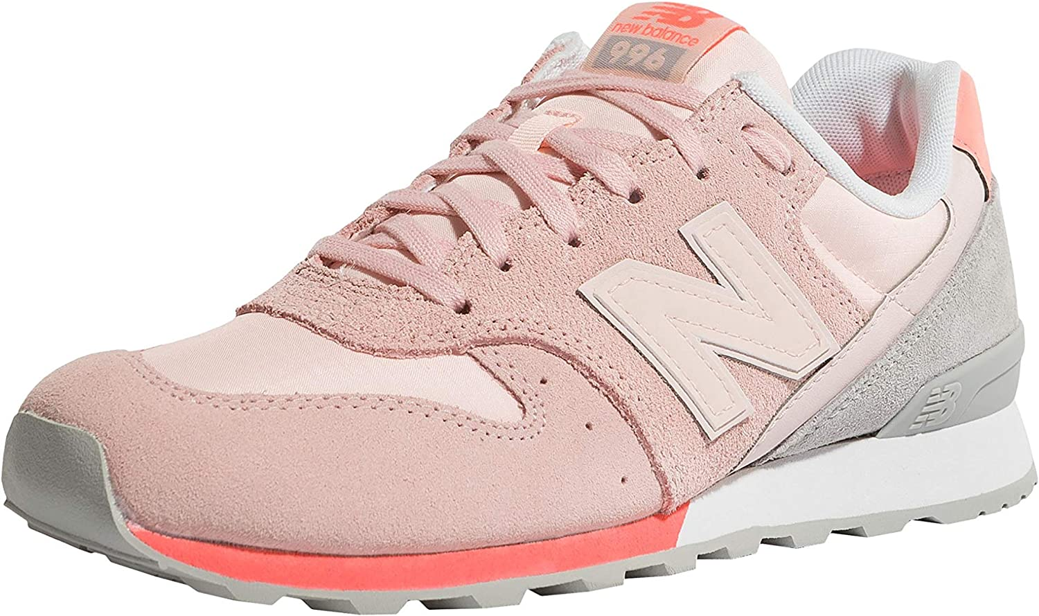 New Balance - 996 - color  Pink - Size  6.5US