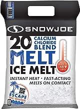 Snow Joe MELT20ESB Calcium Chloride Ice Melt Blend | 20-Pound