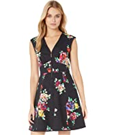 Kate Spade New York - Rare Roses Poplin Dress