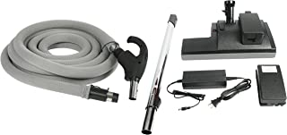 Cen-Tec Systems 93389 Battery Powerhead Central Vacuum Package, Black