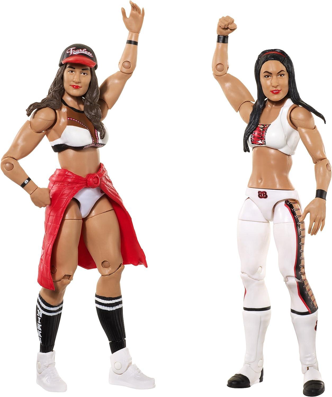 mas barato WWE Nikki Bella Bella Bella & Brie Bella Figura De Acción (2u.) - Paquetes De Batalla 43  ventas directas de fábrica
