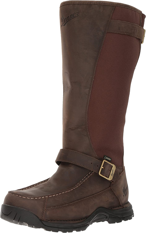 Danner Men's Sharptail Snake Boot 17  Dark Brown Hunting shoes