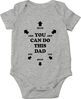 You Can Do This Dad Cute Novelty Funny Infant One-Piece Baby Bodysuit