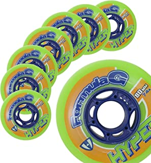 Hockey Skate Wheels Hyper Formula G ERA - 8 Wheels - 74A/76A - 80 MM