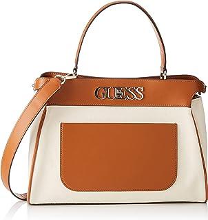 Guess Damen Uptown Chic Lrg Trnlck Satchel Handbag, Einheitsgröße