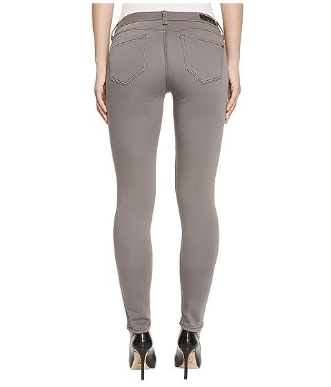 Adriana Gold Jeans Smoke Jeans Mavi in Sateen 5qFPASwg