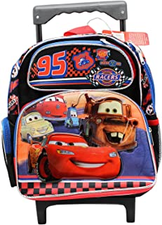 Pixars' Cars Racers 12 inch Small Rolling Backpack