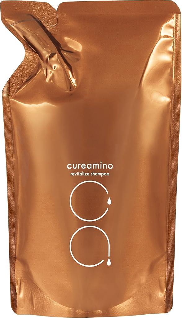 内側筋肉のつかいますcureamino(キュアミノ) リバイタライズシャンプー 詰替 400ML