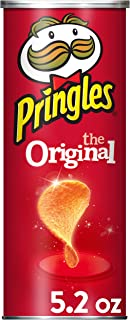 Pringles The Original Potato Crisps - 5.2 oz Can