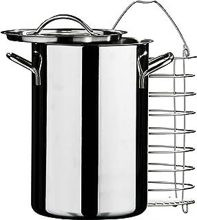 Premier Housewares - Olla de cocción al Vapor en Acero Inoxidable