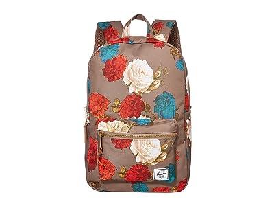 Herschel Supply Co. Settlement Medium (Vintage Floral Pine Bark) Backpack Bags