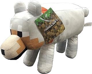 "Minecraft - Pluche speelgoed 11'81""/30cm van Minecraft Steve, Alex, Creeper, Enderman, Wolf, Lama, Ocelot, Varken karakter..."