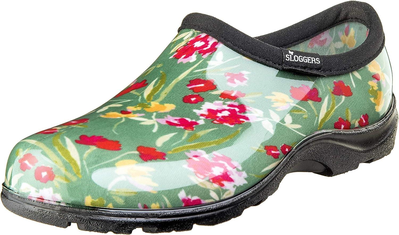 SLOGGERS 5119FCGN07 Wo's, Fresh Cut Green sz 7 Waterproof Comfort shoes