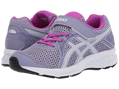 ASICS Kids Jolt 2 PS (Toddler/Little Kid) (Ash Rock/White) Girls Shoes