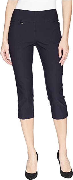 Solid Magical Lycra® Capri Pants
