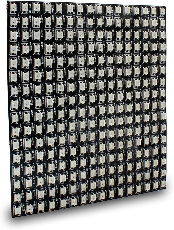 Easy Go Shopping WS2812B 256 Pixel Digital 5050 RGB Dream Farbe Programmierte LED-Modulleiste DC5V Leiterplatte