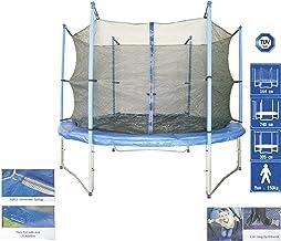 Trampolin Ersatznetz 305 cm für -- 6 STANGEN -- 3 U-Füße Trampolinnetz (ohne Gestänge)