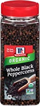 McCormick Whole Black Peppercorns (Organic, Non-GMO, Kosher), 13.75 oz