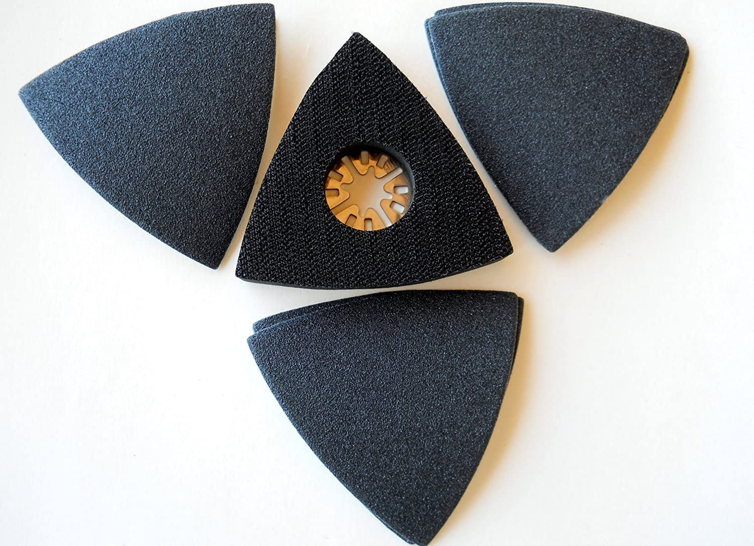 Combo Value Pack Manufacturer direct delivery - 3 inch with pad Velcro Triangular Uni sanding Max 42% OFF