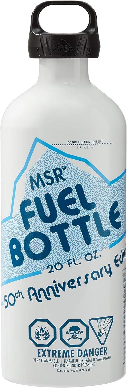 MSR Liquid Award-winning Attention brand store Fuel Bottle 20 - 50th Ounce Anniversary