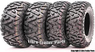 Set of 4 WANDA ATV/UTV Tires 24x8-12 Front & 24x10-11 Rear Solid Deep Tread …
