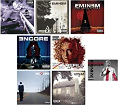 Eminem: Classic Albums CD Collection (Slim Shady / Marshall Mathers 1 and 2 / Eminem Show / Encore / Relapse: Refill / Recovery) with 7 Bonus Tracks and Art Card