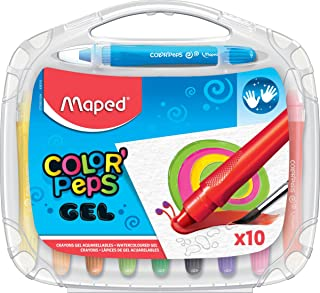 """Maped """"Color'Peps"""" Gel Smoothy Crayons 10 Color'Peps Multicolor"""