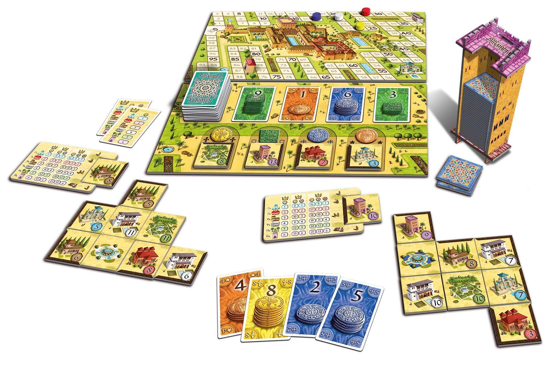 Queen Games Alhambra: Edición revisada: Amazon.es: Juguetes y juegos