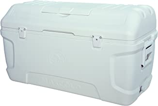 Igloo Contour Maxcold Cooler, 165 quart/156 L, White
