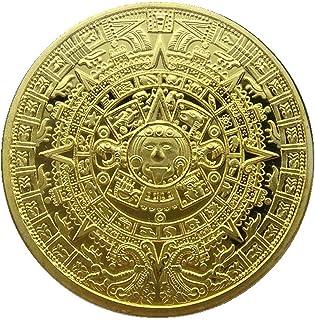 HARPIMER Pièce Commémorative Maya, Collection de Pièces Commémoratives Aztèques et Mayas dans Une Collection d'art de Cale...
