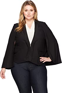 Women's Plus Size Tuxedo Cape