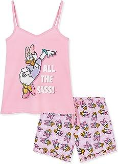 Disney Pyjamas Women, Short PJs Women Set, Disney Gifts for Women