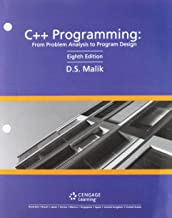 C++ Programming + Mindtap Computer Science, 1 Term 6 Months Access Card: From Problem Analysis to Program Design