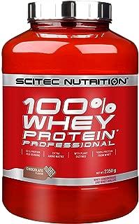 Scitec Nutrition Complejo Proteínico de Suero de Leche 100%, Sabor de chocolate- 2.35 kg
