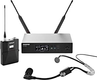 Shure QLXD14/SM35 Headworn Wireless System with SM35 Headset Microphone, H50