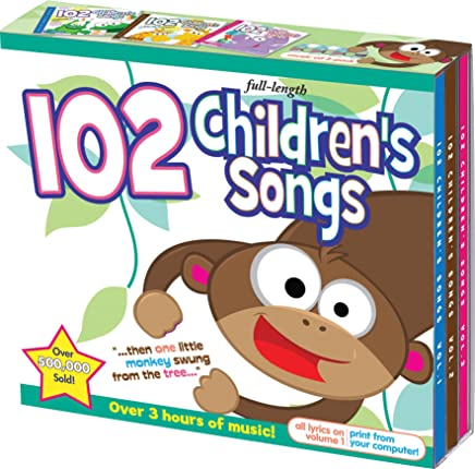 102 Children's Songs Set