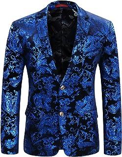 Yanlian Hombre Blazer Elegantes Casual Slim Fit Cuello Solapa Chaquetas Negocios Office Wear Ropa Chaqueta Americana