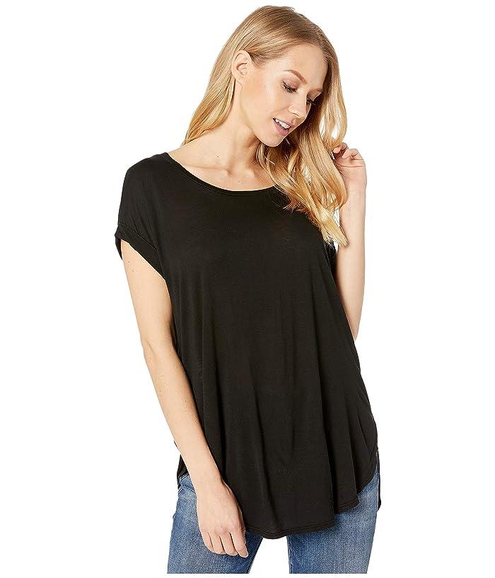 LAmade Cutie MicroModal Top (Black) Women's T Shirt