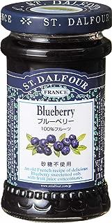 サン・ダルフォー オールフルーツスプレッド ブルーベリー 170g×6本