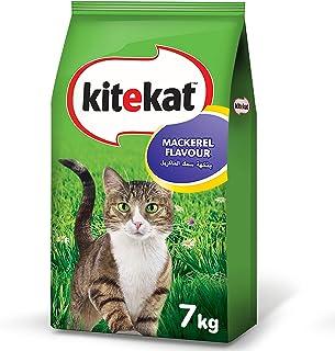 طعام قطط جاف بالماكريل من كايت كات بوزن 7 كغم